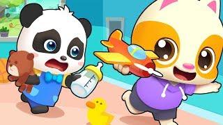 照顧小寶寶 | 最新救護車兒歌童謠 | 好習慣卡通動畫 | 寶寶巴士 | 奇奇 | Learn Chinese | BabyBus