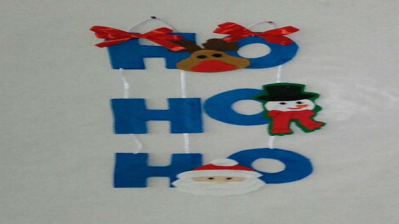 Adornos navide os para puertas decoracion navide a - Manualidades para decoracion ...