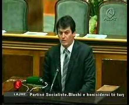President Bamir Topi