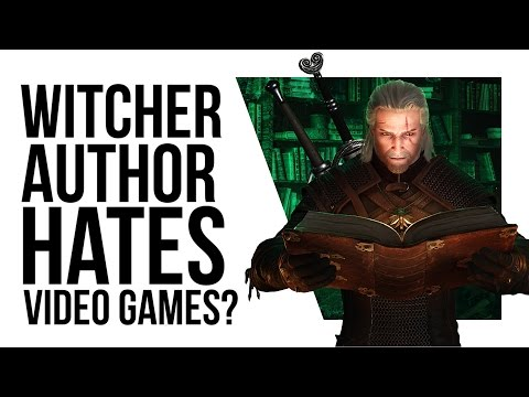 The Witcher author says HIS BOOKS made the games famous