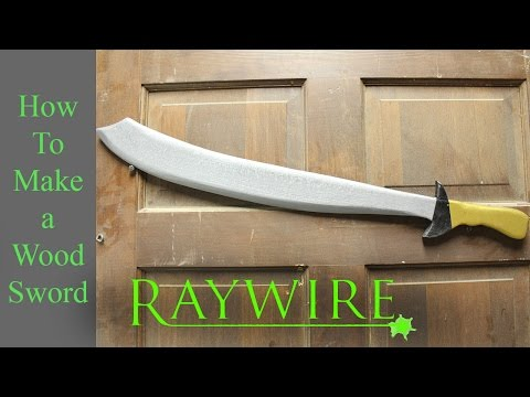 How to make a Wood Sword