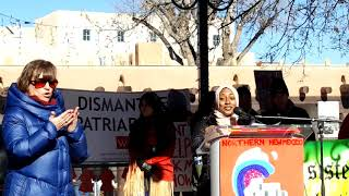 WOMEN'S MARCH SANTA FE  2019 – SANTA FE PLAZA – Thana Rajapakse