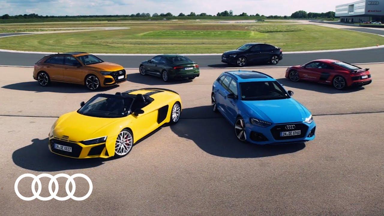 Durchstarten mit der Audi driving experience