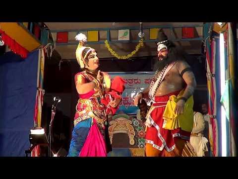 Yakshagana -- Vishwamithra Menake -  12