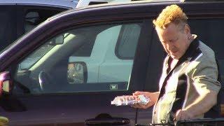 Sex Pistol Johnny Rotten Enjoying His Golden Years In Malibu