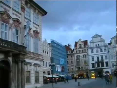 Staroměstské náměstí _ Староместская площадь в Праге (Video Travels)