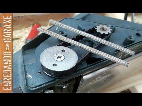 Cambiando correa y cuchillas de cepillo eléctrico - YouTube 971826eda83f