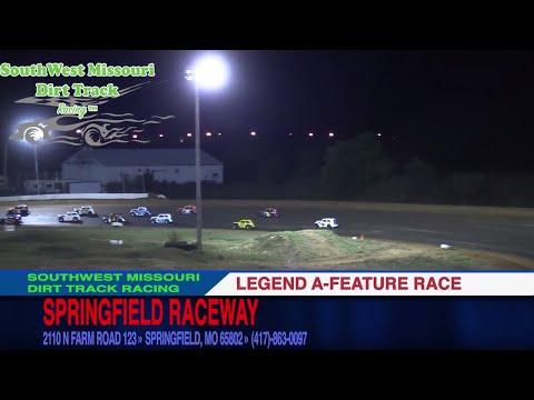 Legend A Feature Race | Springfield Raceway | 10.14.17 | Dirt Track Racing