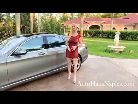 Magical 2015 Mercedes-Benz S550 Review W/MaryAnn For Sale By AutoHaus Of Naples