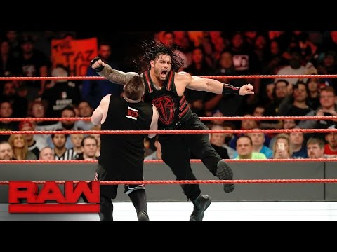 Roman Reigns vs. Kevin Owens - United States Championship Match: Raw, Dec. 26, 2016