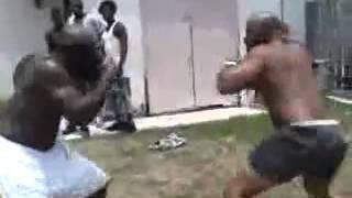 Kimbo Slice Vs Byrd aka Big D Kimbos First Street Fight