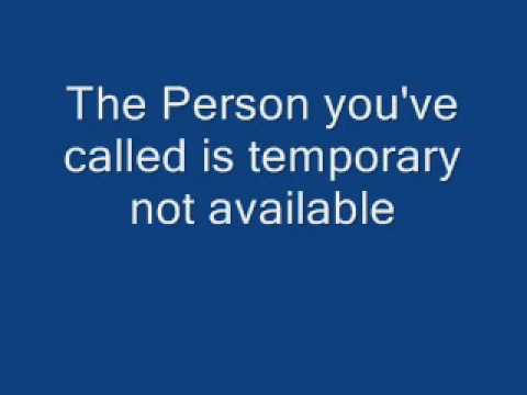 Person Unavailable The Person you ...