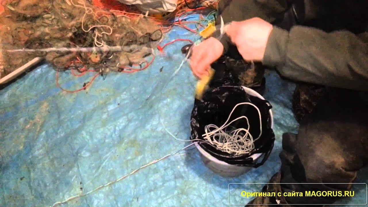 Набор сети для быстрой постановки на воду