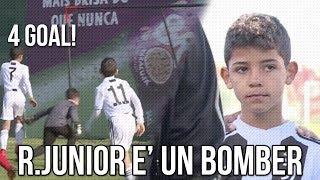 Ronaldo Junior è un Bomber | La prima partita di Ronaldo Junior |