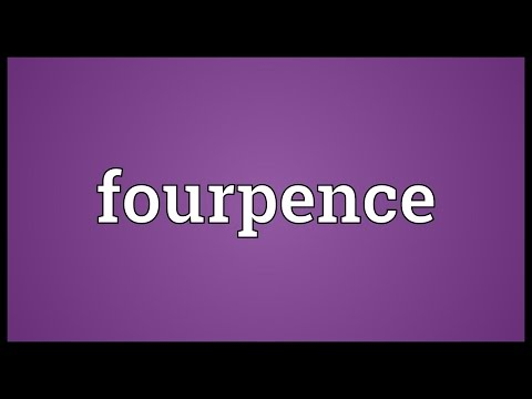 Header of fourpence