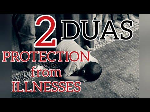 2 DUAS for Protection from Illnesses - with English translation - Original Recitation