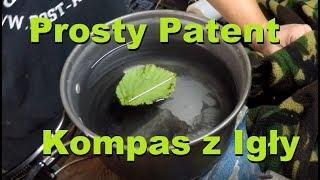 Prosty Patent - Kompas z Igły