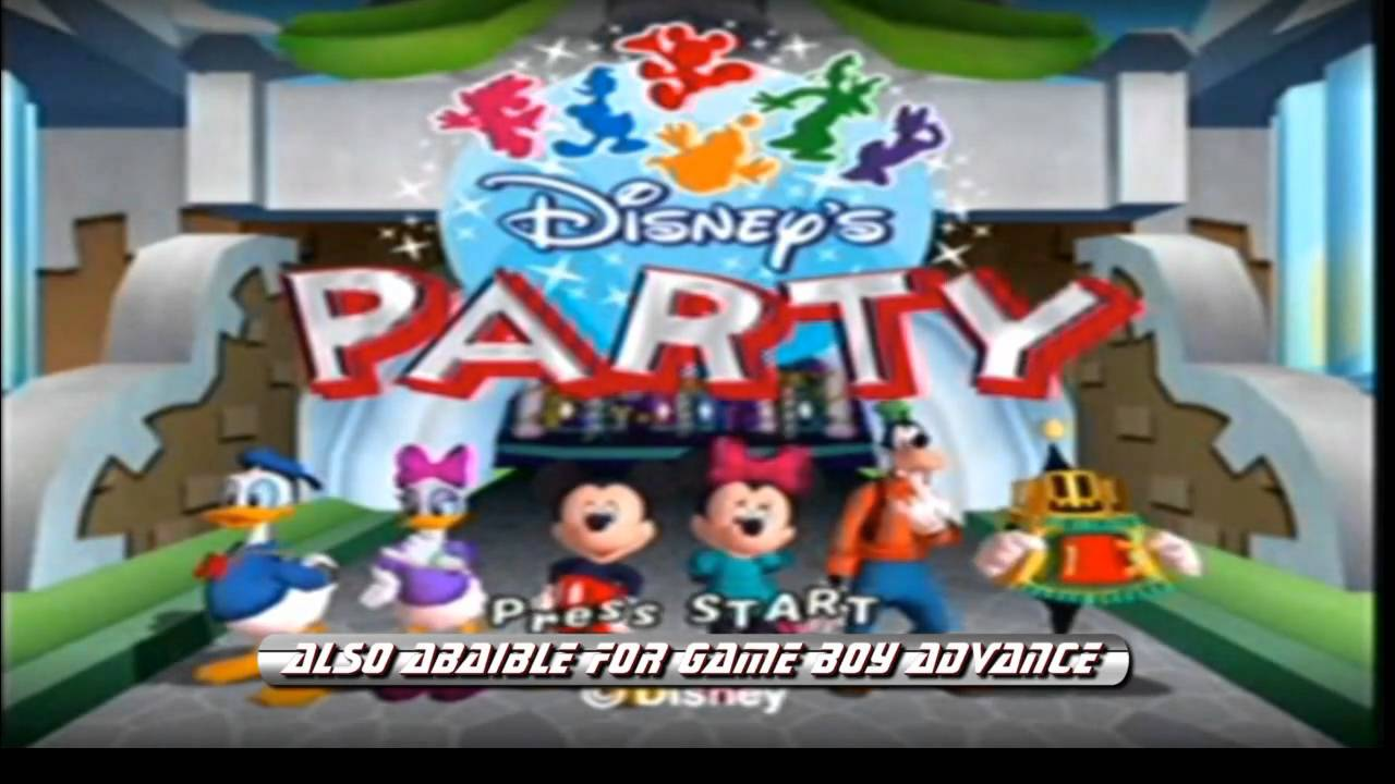 Adam S Game Review Disney S Party For Gamecube Hd Youtube
