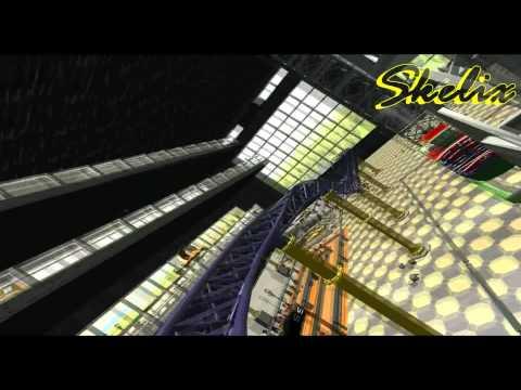 RCT3 - Avispa Mall - POV of 'Electron'