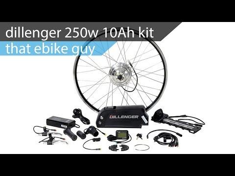 That E Bike Guy Dillenger 250w 10ah Conversion Kit Youtube
