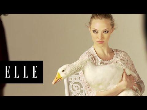 Amanda Seyfried | Behind the Scenes | ELLE