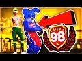 UNLOCKING A MASCOT ON NBA 2K19 • 98 OVERALL MASCOT IS OVERPOWERED • HANKDATANK + MASCOT AT PARK
