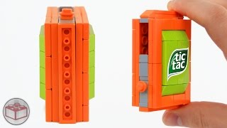 World's Smallest LEGO Candy Machine (1x6 Baseplate)