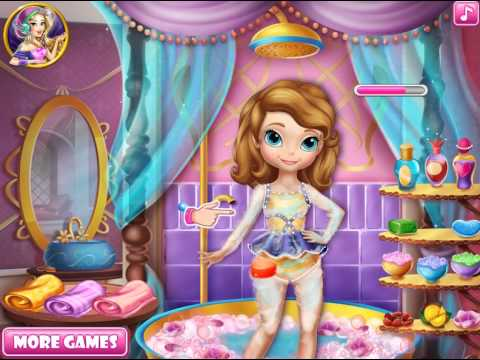 Disney Princess Sofia Swimming Pool Video Play Girls Games Online For Kids Dress Up Games