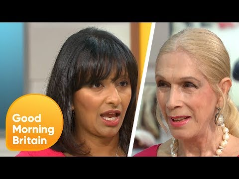 Lady Colin Campbell Shocks Ranvir on Comments About Professional Hugging | Good Morning Britain
