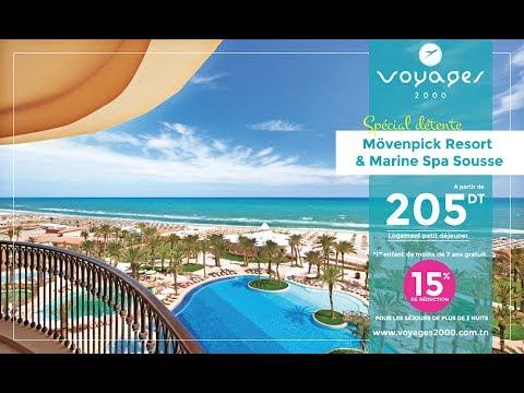 Mövenpick Resort & Marine Spa Sousse PROMO été 2017