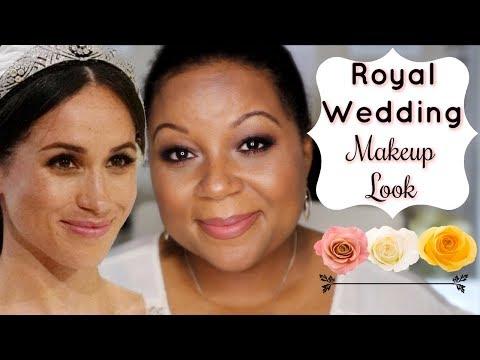 Meghan Markle 👸 Royal Wedding Makeup Look   Savvy 🌸