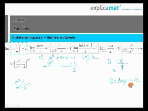 Limites - Número de Neper - Matemática 12.º Ano