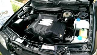 Демонстрация работы двигателя Audi a6 2.6 abc