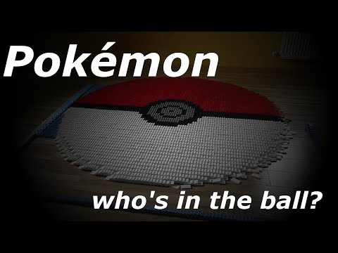 Domino Day 2013: Pokémon Special! Who's in the ball?