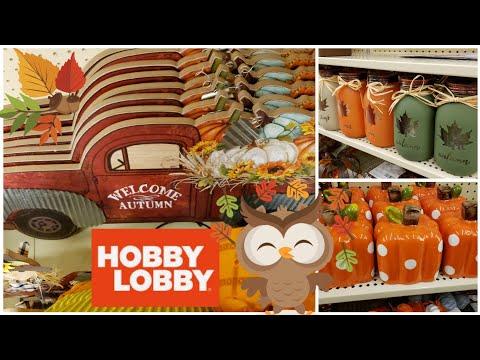 HOBBY LOBBY 🍁 FALL DECOR 🍁2019🍁 SHOP WITH ME