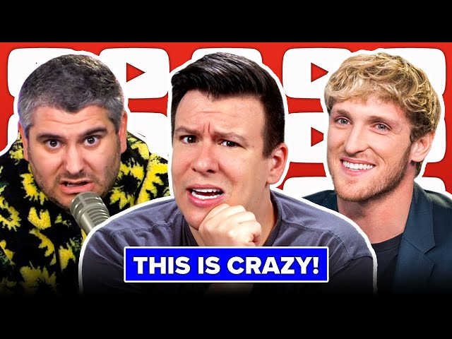 WOW! Guess Who's Getting Sued For $50 Million Now! Logan Paul, H3 Podcast, Pokemon Card Ban & More