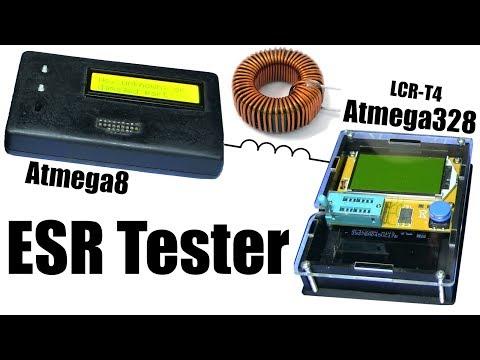 ESR Tester - самодельный / LCR-T4 (Atmega8/328)
