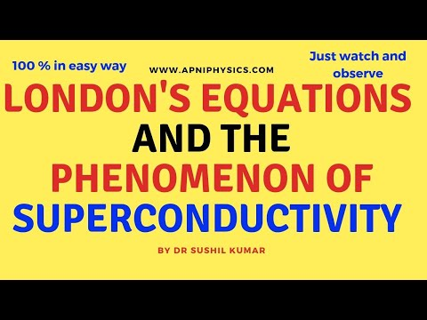 London Equations: Superconductivity