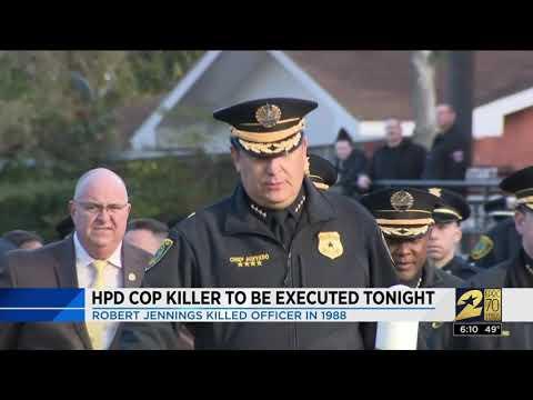 HPD cop killer to be executed tonight  Robert Jennings