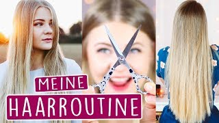 MEINE HAARROUTINE 2017 - TRICKS für LANGE & GESUNDE HAARE + Zuschaueranrufe! 😍