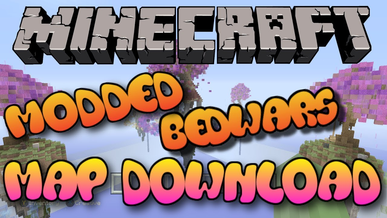 Minecraft PS3/PS4 MODDED BED WARS MAP W/DOWNLOAD