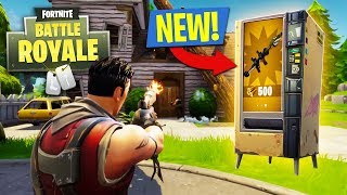 NEW UPDATE!! *VENDING MACHINES* // 13,250+ KILLS // 708+ WINS (Fortnite Battle Royale)