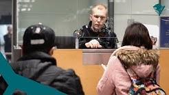 Ammattina rajavartija – Helsinki-Vantaan lentoasema