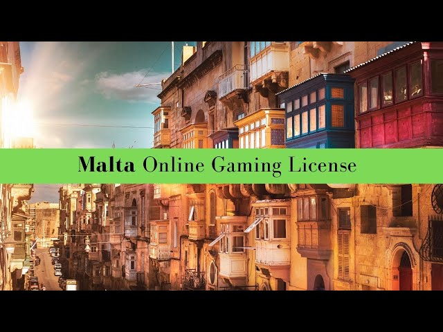 Online Gaming License in Malta
