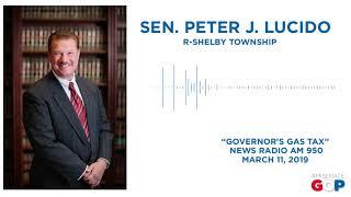 Sen. Lucido discusses Gov. Whitmer's gas tax proposal on WWJ