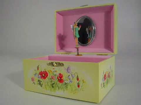 Fairy Music Jewellery Box