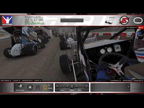 DOB 360 Sprint Car Series - Eldora Speedway 7/2/19 Inputs  - Full race