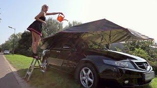 Elektryczny namiot na samochód