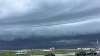 Storm Clouds Move Over Patrick Air Force Base in 4k Ultra HD
