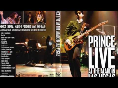 Prince feat.  Nikka Costa  -  Push & pull live at the Aladdin Las Vegas